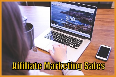 Affiliate Marketing Sales